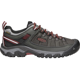 Keen M's Targhee Exp WP Shoes raven/fired bri